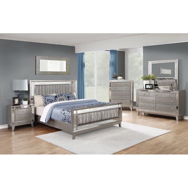 Ibrahim Upholstered Standard Bed by House of Hampton