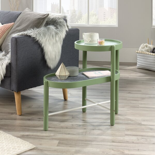 Lamartine Tray Top End Table With Storage By Wrought Studio