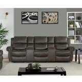 Magnificent Reclining Sofa With Usb Ports Wayfair Bralicious Painted Fabric Chair Ideas Braliciousco