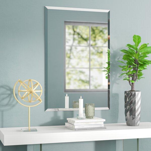 Provost Frameless Rectangle Wall Mirror by Orren Ellis