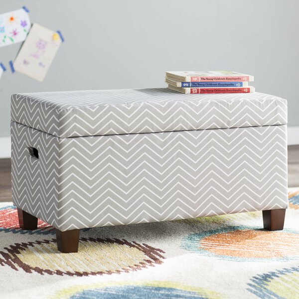 Jess Upholstered Storage Bench by Viv + Rae