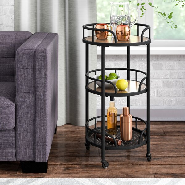Braxton Mobile Bar Cart By Ivy Bronx Best Design