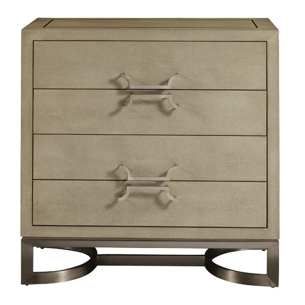 Bryson 4 Drawer Accent Chest by Mercer41 Mercer41
