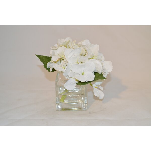 Hydrangea in Cube by The French Bee