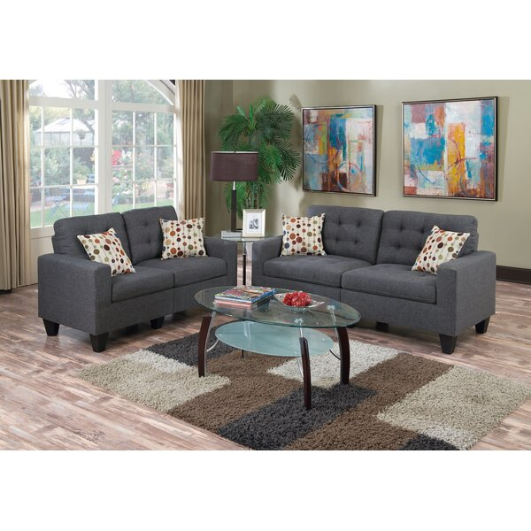 Cassandra 2 Piece Living Room Set by Zipcode Desig