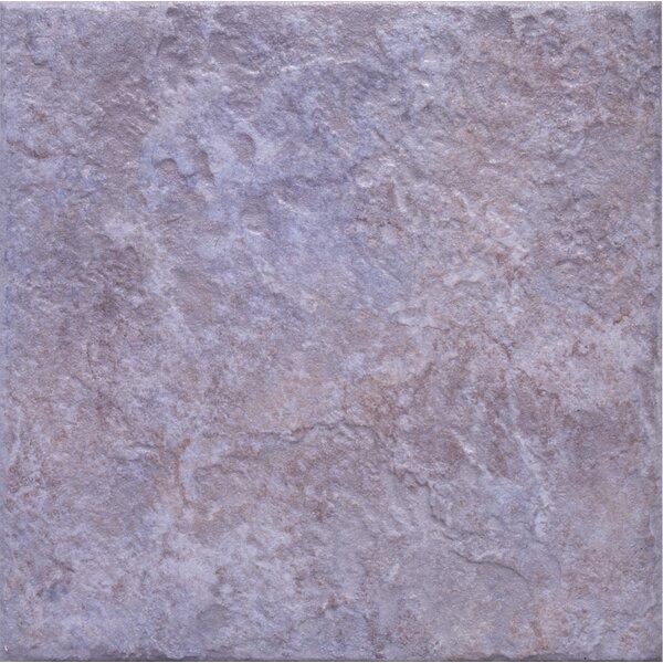 Romagna 13 x 13 Ceramic Field Tile in Azul by Interceramic