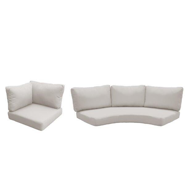 Waterbury 10 Piece Indoor/Outdoor High Back Cushion Cover Set
