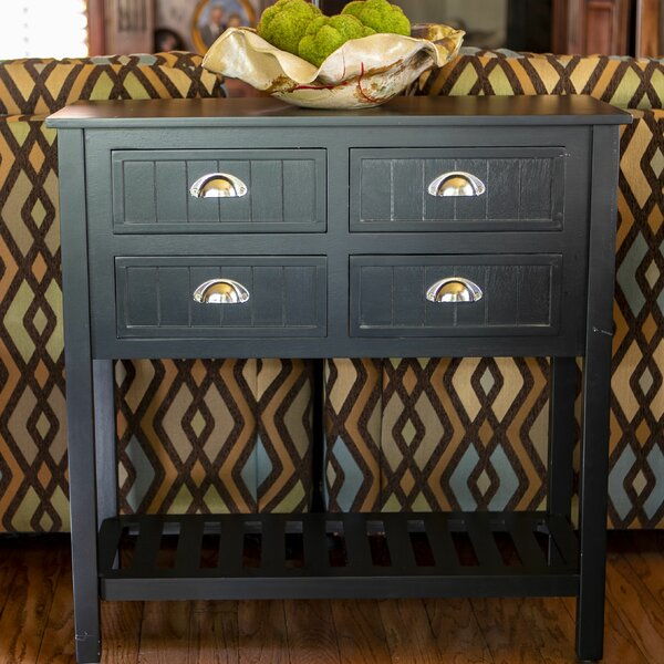 Rosas 4 Drawer Console Table By August Grove