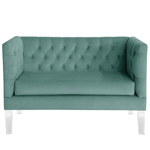 Comstock Tufted Settee Sleeper by Mercer41