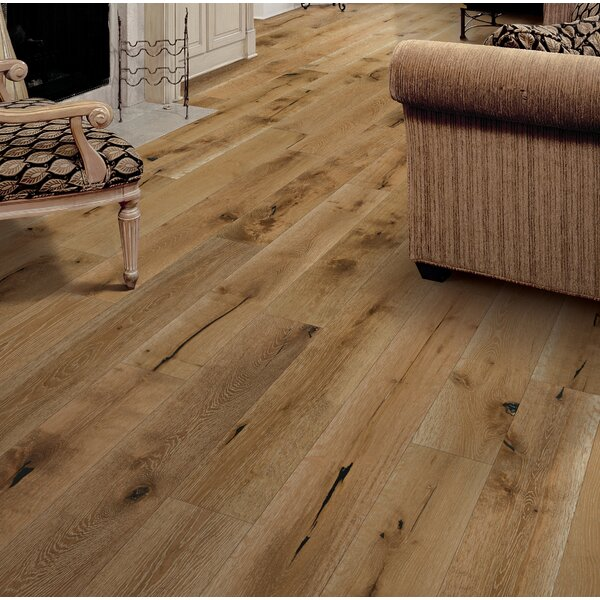 Santorini 7-1/2 Engineered Oak Hardwood Flooring in Monaco by Branton Flooring Collection