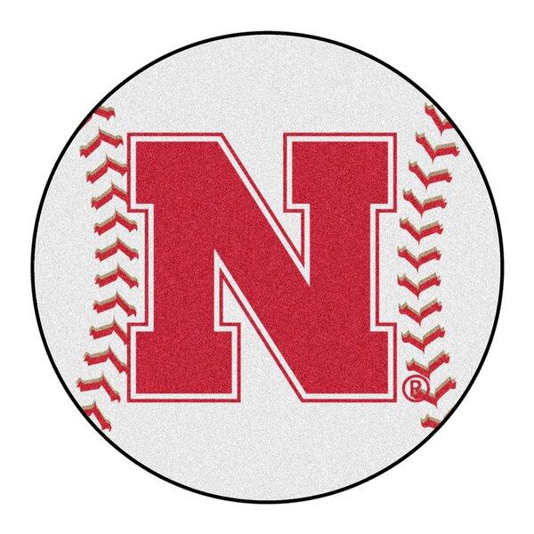 NCAA University of Nebraska Baseball Mat by FANMATS