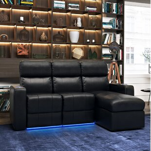 Home Theater Sectional Red Barrel Studio Spacial Price