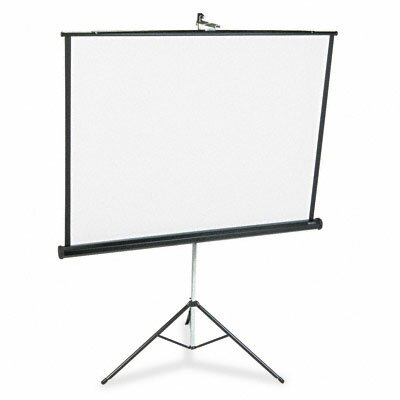 Matte White Portable Projection Screen by Quartet®