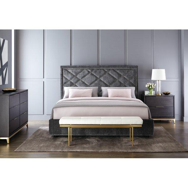 Taro Upholstered Sleigh Bed by Brayden Studio