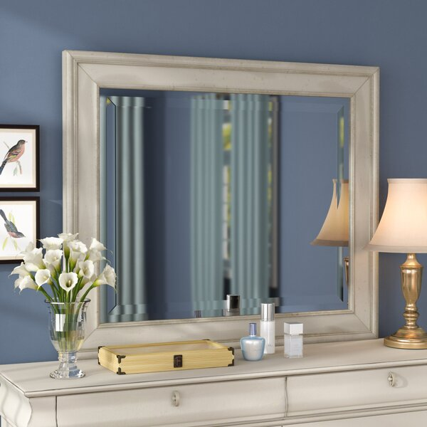 Oreana Rectangular Dresser Mirror by Three Posts