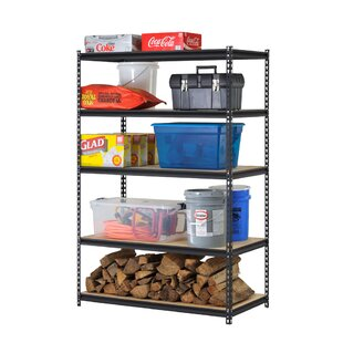 72 H Steel Five Shelf Heavy Duty Shelving Unit