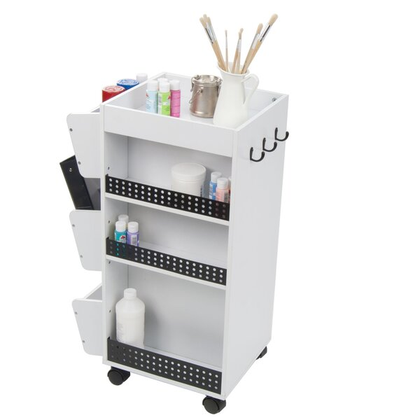 Double Sided 9 Compartment Teaching Cart with Bins by Studio DesignsDouble Sided 9 Compartment Teaching Cart with Bins by Studio Designs