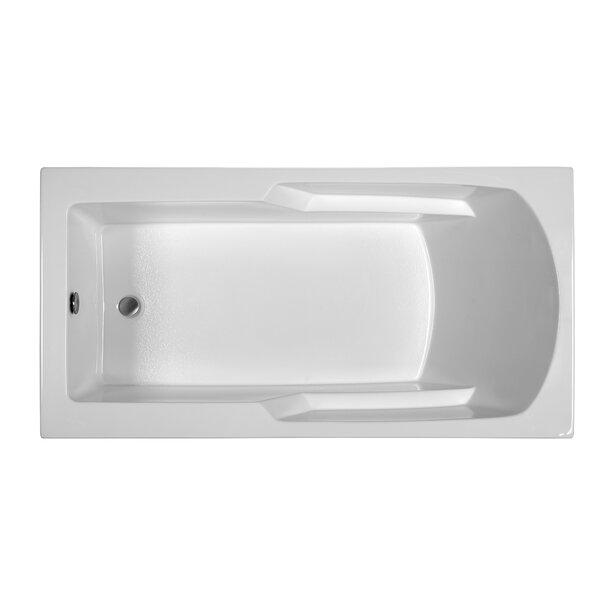 Reliance 65.75 x 33.75 Soaking Bathtub by Reliance
