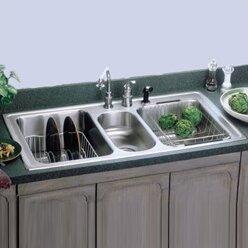 save to idea board triple kitchen sinks you u0027ll love   wayfair  rh   wayfair com