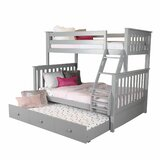 Schofield Bunk Bed with Trundle byHarriet Bee