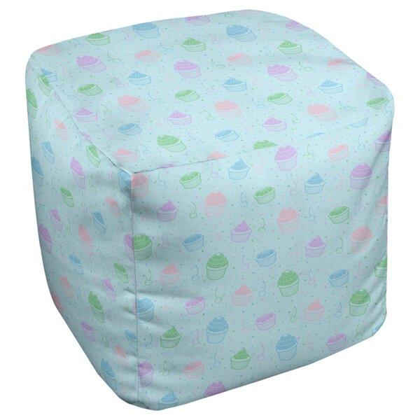 Avicia Cupcake Cube Ottoman by Latitude Run