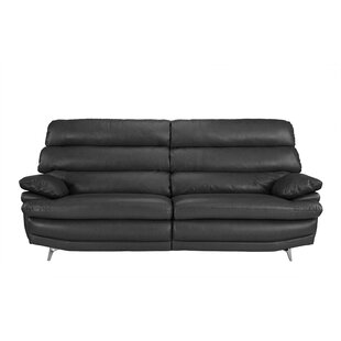 Incroyable Steve Silver Leather Sofa Set | Wayfair