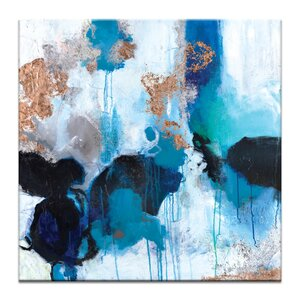 Mojo Risen by Julie Ahmad Painting Print on Wrapped Canvas by Artist Lane