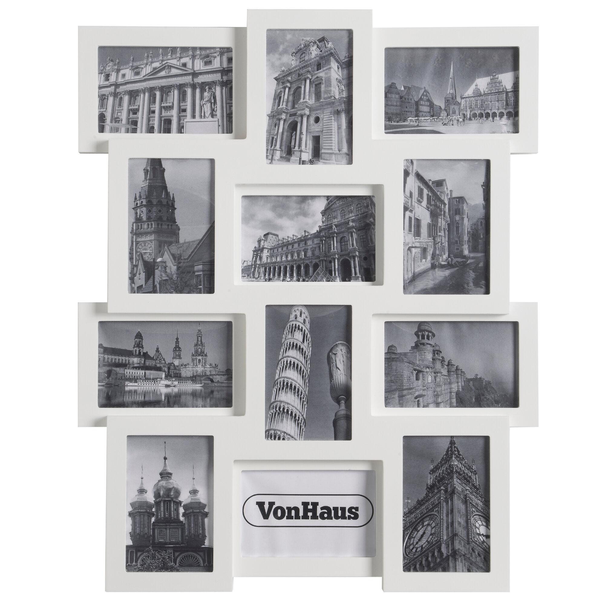 VonHaus 12 Piece Collage Picture Frame Set & Reviews   Wayfair
