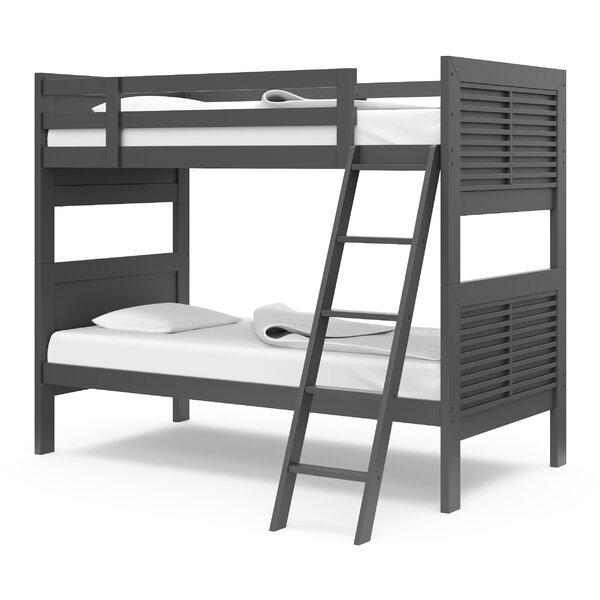Kids Milo Twin over Twin Bunk Bed by Harriet Bee