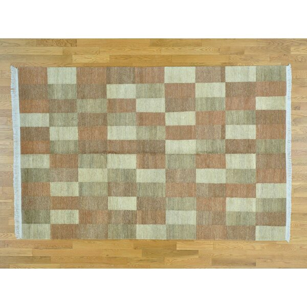 One-of-a-Kind Becker Natural Dyes Handwoven Wool Area Rug by Isabelline