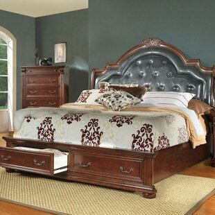 Goldsmith Upholstered Storage Platform Bed by Flair
