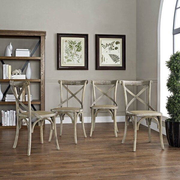 Gage Dining Chair (Set of 4) by Laurel Foundry Modern Farmhouse