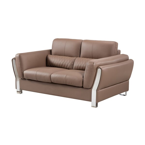 Review Passaic 71 Inches Flared Arms Loveseat