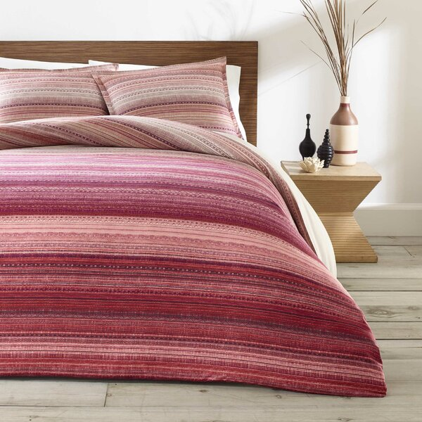 Cifuentes Reversible Duvet Set by Bungalow Rose