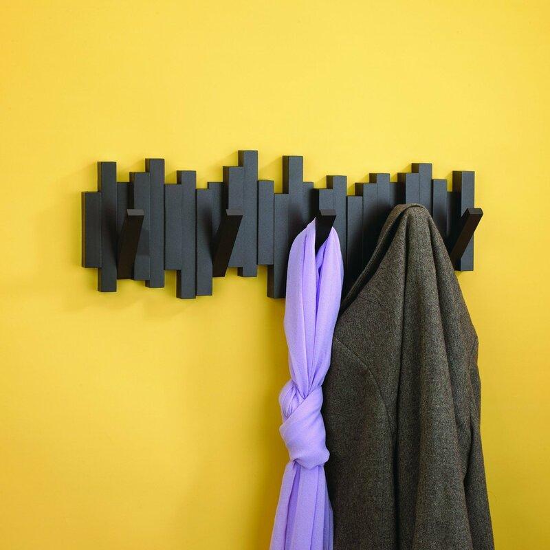Sticks Wall Mounted Coat Rack & Reviews | AllModern