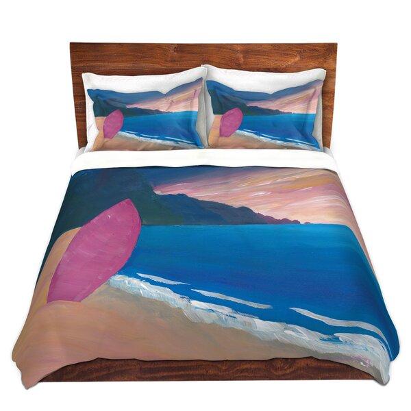 Surfboard Duvet Cover Set