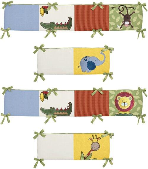 Jungle Time Crib Bumper by Sweet Jojo Designs