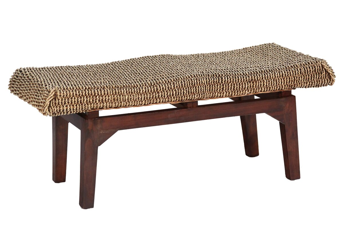 Long Seagrass Bench