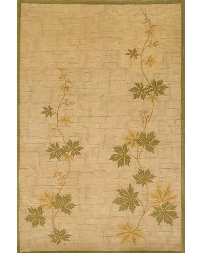 Neo Nepal Climbing Vine Beige Area Rug by American Home Rug Co.