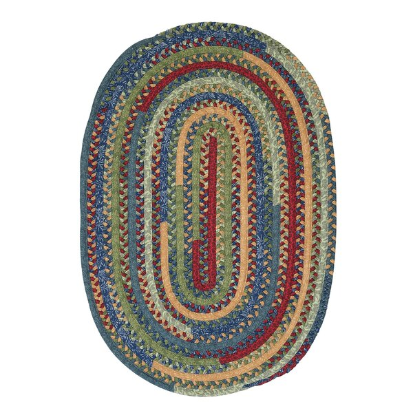 Market Mix Oval Sea Area Rug by Colonial Mills