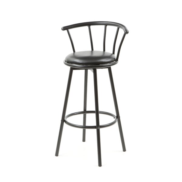 Mcelvain 29 Swivel Bar Stool (Set of 2) by Brayden Studio