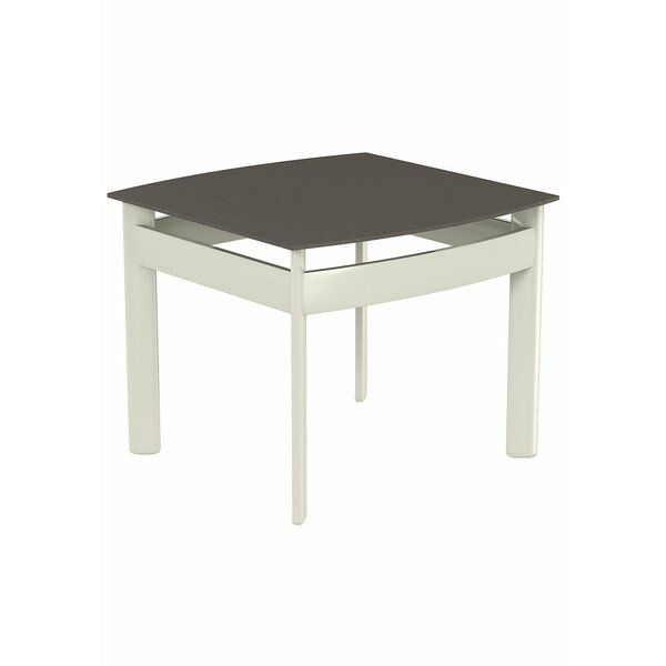 Kor Square Aluminum End Table by Tropitone