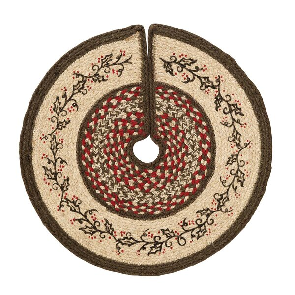 Jute Stenciled Mini Tree Skirt by August Grove