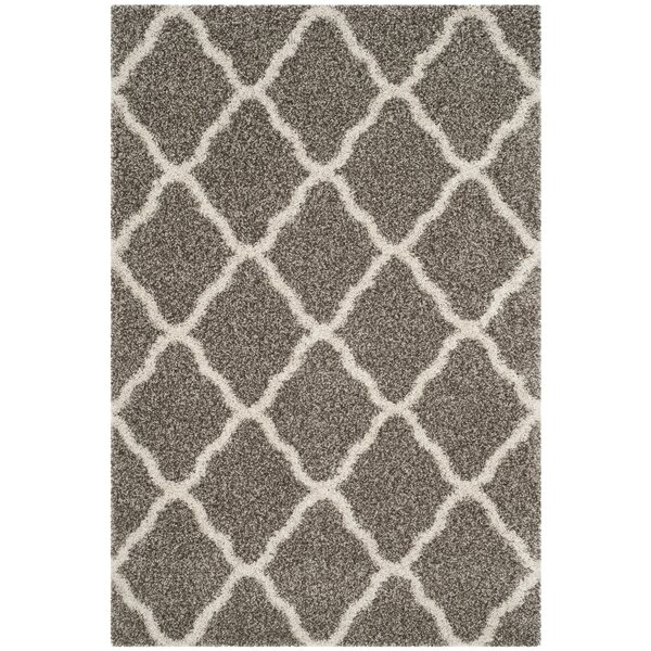 Buford Gray/Ivory Area Rug by Charlton Home
