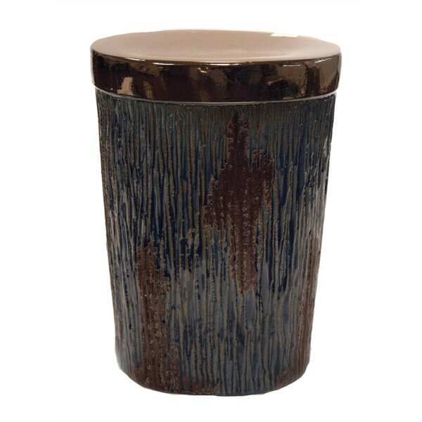 Pangburn Minimalist Design Sturdy Ceramic Garden Stool by Loon Peak