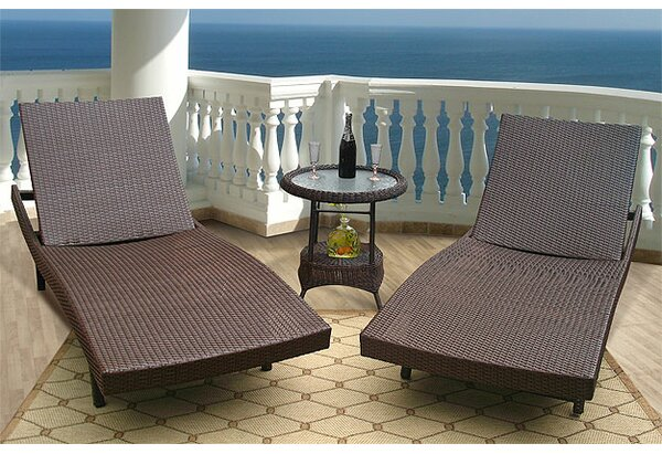 Siesta Chaise Lounge (Set of 2) by Wicker Warehouse