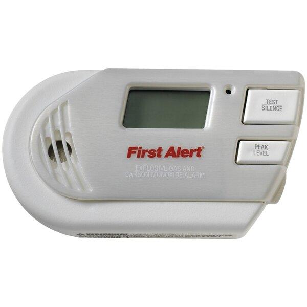 3-in-1 Explosive Gas & Carbon Monoxide Alarm by Fi