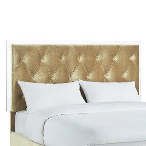 Harmen Button-Tufted Velvet Upholstered Panel Headboard by Willa Arlo Interiors