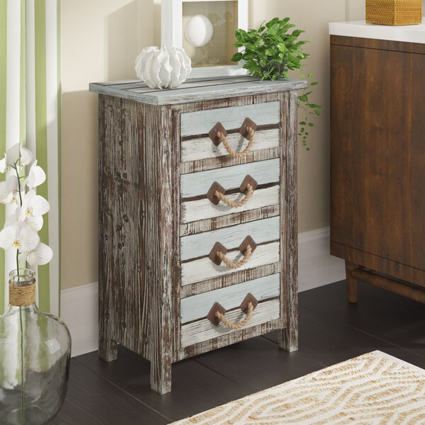 Norcroft 4 Drawer Accent chest by Beachcrest Home
