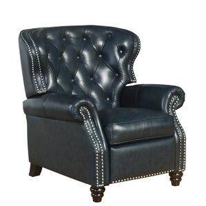 Bearup Leather Recliner by Darby Home Co